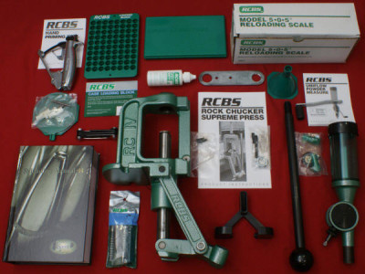 RCBS Rock Chucker Supreme Master Reloading Kit review image